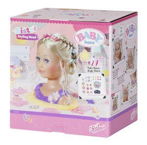 ZAPF 825990 BABY born Sister Styling Head