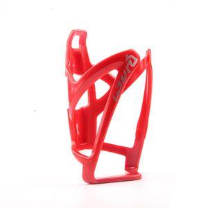 Flaschenhalter für Fahrräder(rot) (Fahrrad-Flaschenhalter aus hochfestem sowie leichtem Kunststoff, verstellbarer Anschlag, variable Fanghaken für sichere Arretierung)