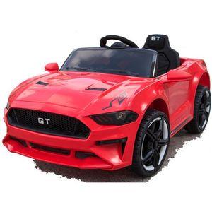 GT Raptor 2x Motoren 12V Elektro Kinderauto elektrisch Kinder Elektroauto mit Fernbedienung und öffnenden Türen (Rot)