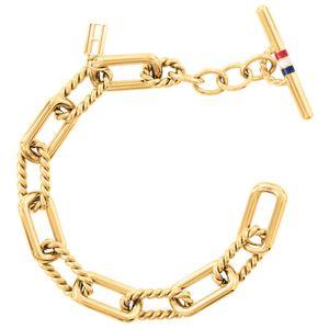 Tommy Hilfiger Damen Armband CLASSIC SIGNATURE Stahl 19,5 cm