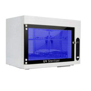 UV Sterilisator, LED UV Steriliser Desinfektionsschrank, Hocheffiziente Sterilisation,für Maniküre-Tools, Pinzetten und Handtücher