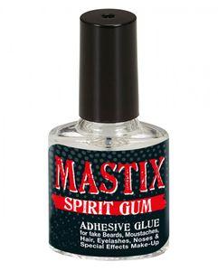 Klarer Mastix Kosmetik Hautkleber für Latex-Wunden & Faschings-Bärte 12 ml