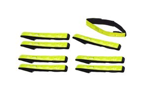 LED Reflektorband Armreflektoren Fahrrad 8 Stück