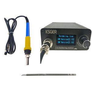 KSGER 896°F Digitale Lötstation Elektrische Lötkolben Spitzen mit 9501