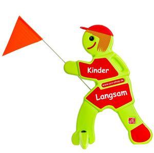 Sicherheit Warnschild spielende Kinder Lisa Brems reflektierend(Rot-Langsam)
