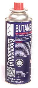 4x Butangas Kartuschen mit Sicherheitsventil 227 ml für Gaskocher