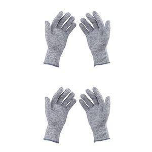 2 Paare S + M Schnittschutzhandschuhe Protective Cut Proof Butcher Holzschnitzerei