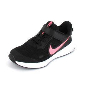 Nike Revolution 5 (Psv) Black/Sunset Pulse 34