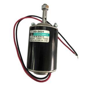 12V 30W 3000RPM Gleichstrommotor Dauermagnet für Heimwerker, CW/CCW