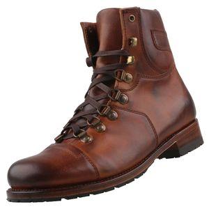 Sendra Herren Stiefel 9017 Braun, Schuhgröße:EUR 43