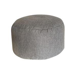 1 Stück Sitzsack Fußstütze Cover , 1 Stück Innenfutter Cover , (Beide ohne Füllung) Farbe Grau