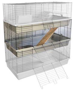 Erweiterungsset für Kaninchen- und Meerschweinchenkäfig GRENADA 120