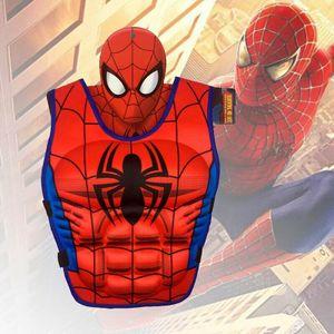 Spiderman Schwimmweste für Kinder Rettungsweste Schwimmweste Schwimmhilfe Swimwesten Kinder Bootfahren Weste Jacket