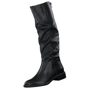 Tamaris Damen Elegante Stiefel 1-25533-25 Schwarz 001 B/Synthetik mit Removable Sock, Groesse:37 EU