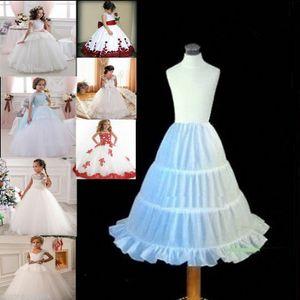 Kinder Unterrock Petticoat Krinoline Pettiskirt für Blumenmädchen 2-14Years