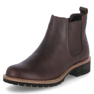 ECCO Damen Stiefeletten Ankle Boots Leder braun 38