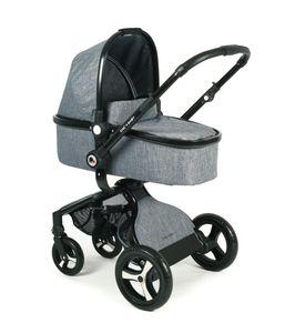 Chic 4 Baby Kombi Platino Kinderwagen Jeans Water Blue
