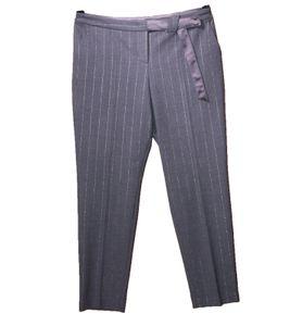 MARC CAIN COLLECTIONS Hose elegante Business-Hose für Damen mit Eingriffstaschen Grau, Größe:40