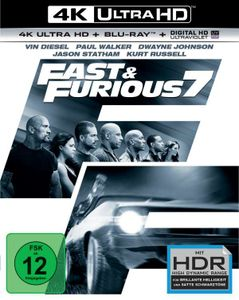 Fast & Furious 7 - Extended Version(4k UHD)