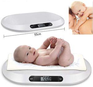 20kg Digitale Babywaage Kinderwaage Babyskala Waage Automatische Abschalt mit LCD Anzeige