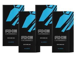 AXE Aftershave Alaska 4x 100ml After Shave Rasur Herren Männer Rasierwasser Aftershave Lotion for Men
