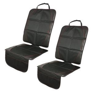 MidGard Rutschfeste, Wasser- und Schmutzabweisende Kindersitzunterlage 2 Stück