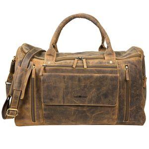 Greenburry Vintage Leder Traveller Reisetasche Weekender 1736-25
