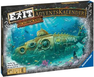 Ravensburger EXIT Adventskalender 2020 - Das gesunkene U-Boot Advent Exit Game