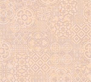 A.S. Création Vliestapete Happy Spring Tapete beige braun orange 10,05 m x 0,53 m 341453 34145-3