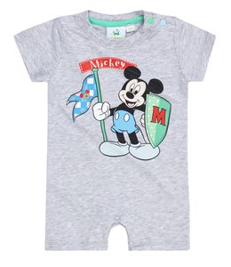 Disney Mickey Babyanzug grau (12M grau)