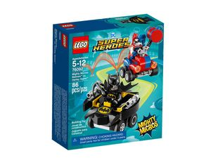 LEGO® DC Universe Super Heroes™ Mighty Micros: Batman™ vs. Harley Quinn™ 76092