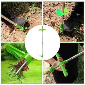 1 meter Aufstehen Unkraut Puller Garten Rasen Weeder Twist Pull Gras Remover-Tool mit Komfort Griff