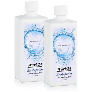 Wark24 Erstbefüller für Ihr Wasserbett 500ml - Extra starker Schutz (2er Pack)