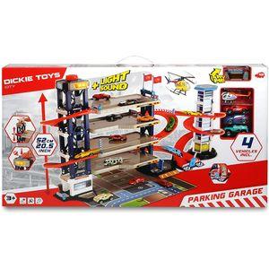 Dickie 203749008 Dickie Toys Parking Garage, Parkg
