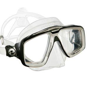 AquaLung Look HD Tauchmaske, Farbe:weiß