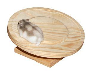 Hamsterlaufteller aus Holz Ø 20cm