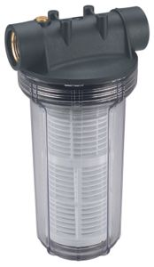 Einhell Vorfilter 25 cm, für Gartenpumpen, Hauswasserwerke und Hauswasserautomaten, 4173851