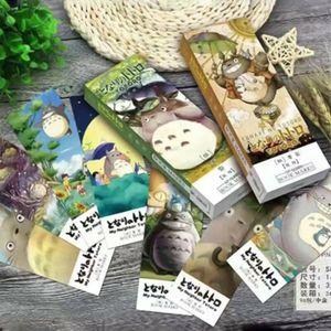 32 Pcs Pack Anime Totoro Paper Lesezeichen Cartoon Schrein Büro Zubehör Re-
