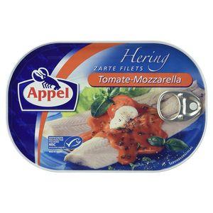 Appel Heringfilets in Tomate Mozzarella Sauce mit Basilikum 200g