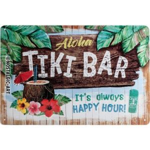 Nostalgic-Art - Blechschild Metallschild 20x30cm - Tiki Bar