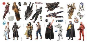 RoomMates wandaufkleber Star Wars: The Rise of Skywalker 28 Stück
