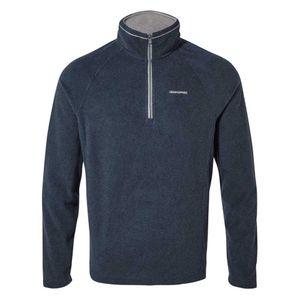 Craghoppers fleece-Pullover Corey VNavy Marl Herren blau