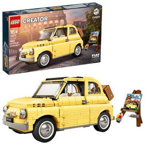 LEGO 10271 Fiat 500 Spielzeugauto, Konstruktionsspielzeug, Modell zum Bauen