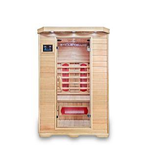 HOME DELUXE - Infrarotsauna REDSUN M Infrarotkabine Wärmekabine Saunakabine Sauna