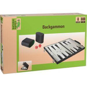 Natural Games Backgammon Kunstleder 47x37 cm