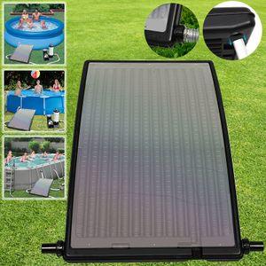 Wolketon Sonnenkollektor Solar Poolheizung Solarheizung Pool Heizungen Solaranlage Warmwasser Gartendusche 110 x 69 x 14 cm fuer Pool