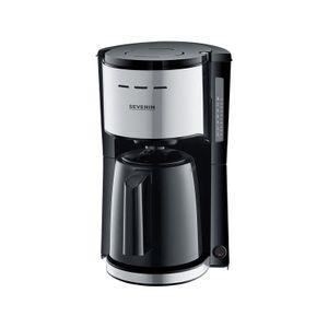 Severin KA9251 Filterkaffeemaschine mit Thermokanne - schwarz/?Edelstahl