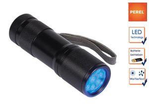 LED UV Taschenlampe mit Handschlaufe, Ultraviolett Licht für Freizeit und Beruf