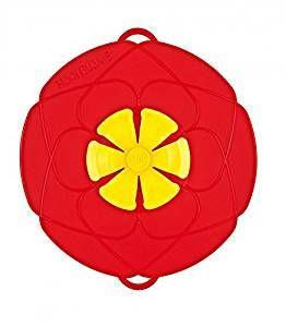 Kochblume das Original - der Überkoch-Schutzdeckel klein Farbe rot 25,50 cm