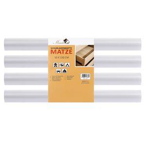 Mambocat Schubladenmatte Matze 4 teiliges Set | für 12 Standard Schubladen | Antirutschmatten